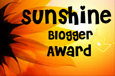 Sunshine Blogger Award Image